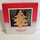 "Hallmark 1988   ""SPARKLING TREE""  Brass     ★NIB★"