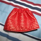 Red/Gold stripped skirt