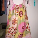 Kleo/Pink Border Pillowcase Dress
