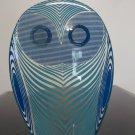 Abraham Palatnik Optic Eye Owl Blue Lucite Acrylic Sculptures Figurines 955