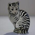 Vintage Abraham Palatnik Lucite Acrylic Cat Feline Sculpture Figurine 2095