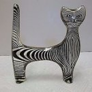 VTG Abraham Palatnik Lucite Acrylic Standing Feline Cat Sculpture Figurine 2203