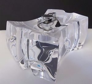 Vintage MCM Modern Ritts Astrolite Lucite Acrylic Table Lighter Sculpture 2652