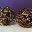 Modern Metal Knots Paper weight Paperweight Bookends Gold Copper Decor 223334