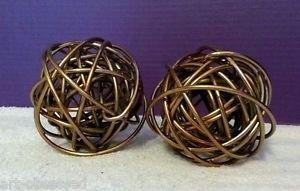 Modern Metal Knots Paper weight Paperweight Bookends Gold Copper Decor 223334