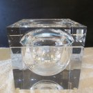 VTG Modern Lucite Acrylic Alessandro Albrizzi Sculptural Ice Bucket Cube 2700