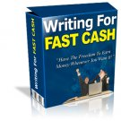 Writing for cash (with resell rights)