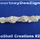 Handcrafted design Seashells French Style Barrette #264 Hair & Accessory Jewelry