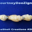 Handcrafted design Seashells French Style Barrette #266 Hair & Accessory Jewelry