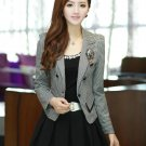 Korean version of the new women's wear suit OL small suit + pleated skirt fashion casual two-piece