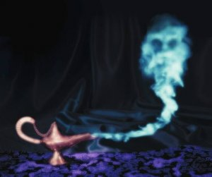 DJINN~GENIE SUMMONING WISH SPELL OFFER INCENSE~HAUNTED