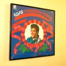 Framed Record Album Cover -  Elvis Presley  - Elvis' Christmas Album  0019