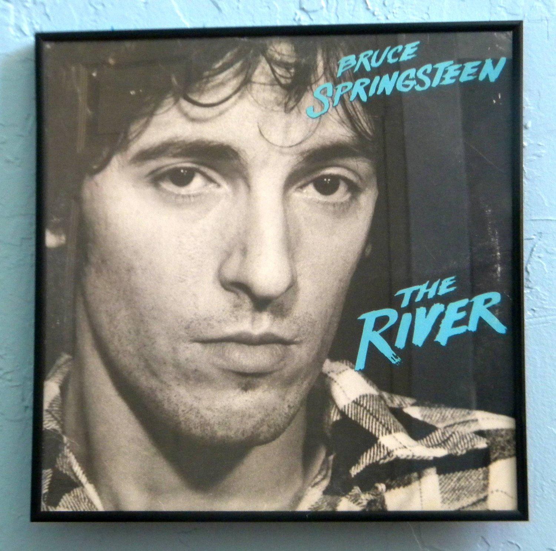 Framed Vintage Record Album – Bruce Springsteen – The ...
