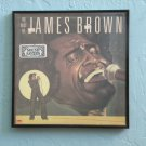 Framed Vintage Record Album - The Best of James Brown  0041