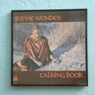 Framed Vintage Record Album  - Talking Book - Stevie Wonder  0042