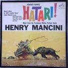 Framed Vintage Record Album - Hatari  -    Henry Mancini  0044