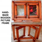 Hand-made Wooden Picture Frame Set
