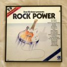 Framed Vintage Record Album  -  Don Kirshner  Presents  ROCK POWER