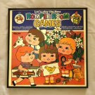 Framed Vintage Record Album Cover -  Let's Play the New Romper Room Games