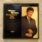 Framed Vintage Record Album Cover  -  Somewhere My Love  -  Wayne Newton  0071