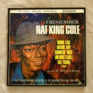 Framed Vintage Record Album Cover -  Remember Nat King Cole