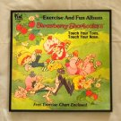 Framed Vintage Record Album Cover - Strawberry Shortcake's  Touch Your Toes Touch Your Nose