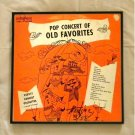 Framed Vintage Record Album Cover - Pop Concert of Old Favorites - Varsity Concert Orchestra