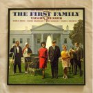 Framed Vintage Record Album Cover - The First Family - Bob Booker and Earle Doud  0092