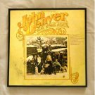 Framed Vintage Record Album Cover - Back Home Again - John Denver