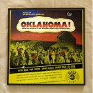 Oklahoma - Original New York Production - Framed Vintage Record Album Cover – 0104