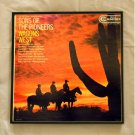 Framed Vintage Record Album Cover – Wagons West - Sons of the Pioneers  0107