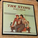 Framed Vintage Record Album Cover – The Sting -  The Original Motion Picture Soundtrack  0148