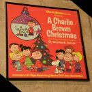 Framed Vintage Record Album Cover – A Charlie Brown Christmas  0150
