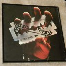 Framed Record Album Cover –British Steel - Judas Priest  0156