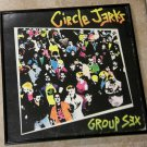Group Sex - Circle Jerks - Framed Vintage Record Album Cover