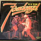 Fandango! - ZZ Top - Framed Vintage Record Album Cover – 0164