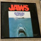 Jaws - Original Soundtrack - Framed Vintage Record Album Cover – 0173
