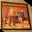 Framed Vintage Record Album Cover – We'll Always Remember  0176