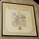 The Four Seasons Story - Framed Vintage Record Album Cover – 0193