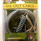 Dog Tie-Out Cable - Heavy Duty