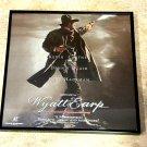 Wyatt Earp - Kevin Costner - Framed Vintage Laser Disc Cover