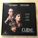 Framed Vintage Laser Disc Cover – The Client - Susan Sarandon