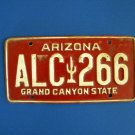 Vintage License Plate - Arizona ALC266