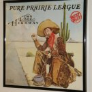 Two Lane Highway - Pure Prairie League - Framed Vintage Record Album Cover – 0226
