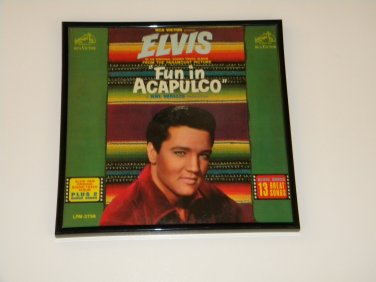 Elvis Presley - Fun In Acapulco Framed Vintage Record Album Cover � 0233