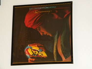 Discovery � Electric Light Orchestra - Framed Vintage Record Album Cover - 0234