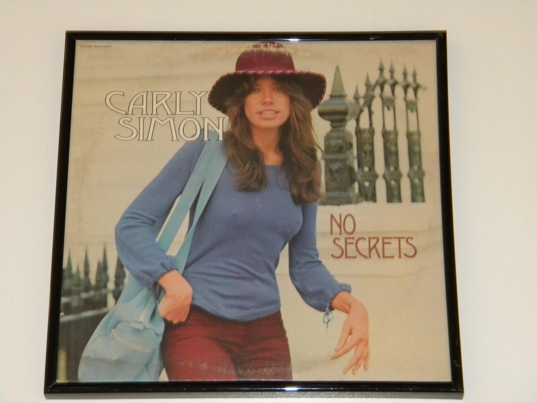 Framed Vintage Record Album