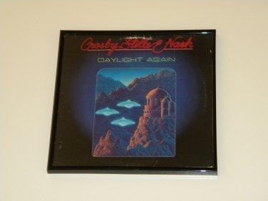 Crosby, Stills, Nash  - Daylight Again  - Framed Vintage Record Album Cover � 0238
