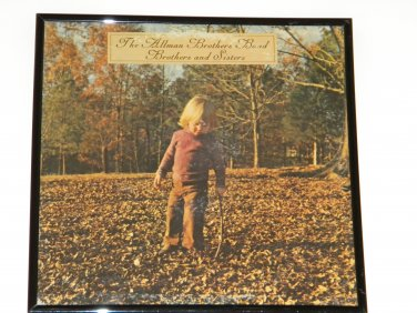 Brothers And Sisters - The Allman Brother Band - Framed Vintage Record Album Cover � 0240
