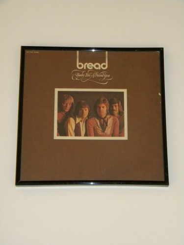 Bread- Baby I'm a Want You - Framed Vintage Record Album Cover � 0241